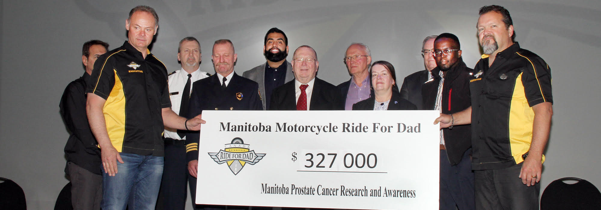 TELUS MANITOBA MOTORCYCLE RIDE FOR DAD KICKS-OFF 2017 PROSTATE CANCER AWARENESS CAMPAIGN