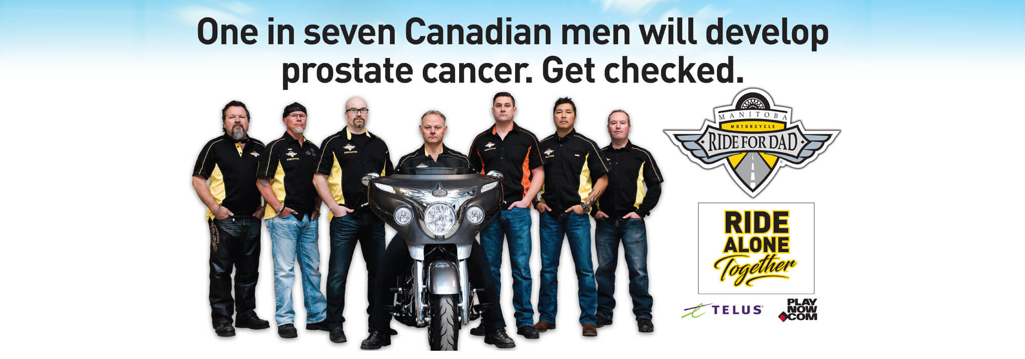 Manitoba Motorcycle Ride for Dad 2020