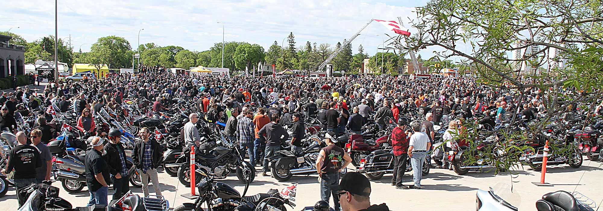 9TH ANNUAL TELUS MANITOBA MOTORCYCLE RIDE FOR DAD SETS RECORD FOR NUMBER OF REGISTERED RIDERS